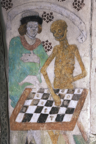 Albertus Pictor - Death Playing Chess