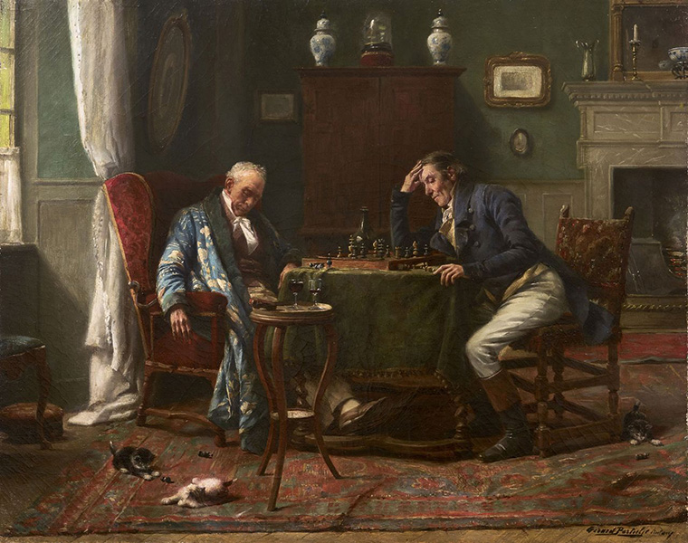 Gérard Portielje – Chess Match