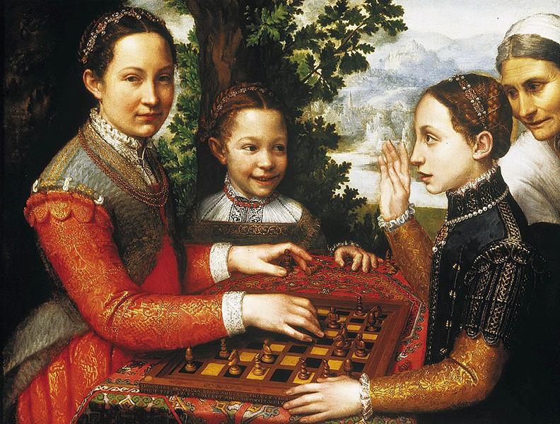 Sofonisba Anguissola – The Chess Game (c. 1555)