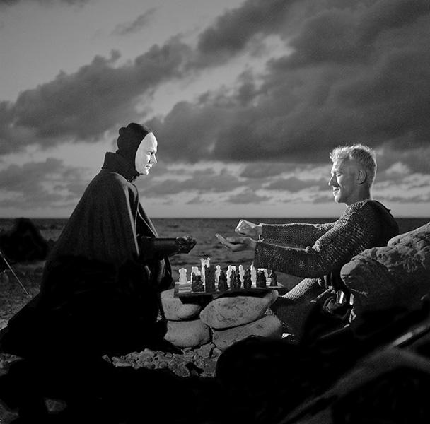The Seventh Seal scene
