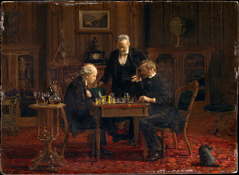 Thomas Eakins – The Chess Players (1876)
